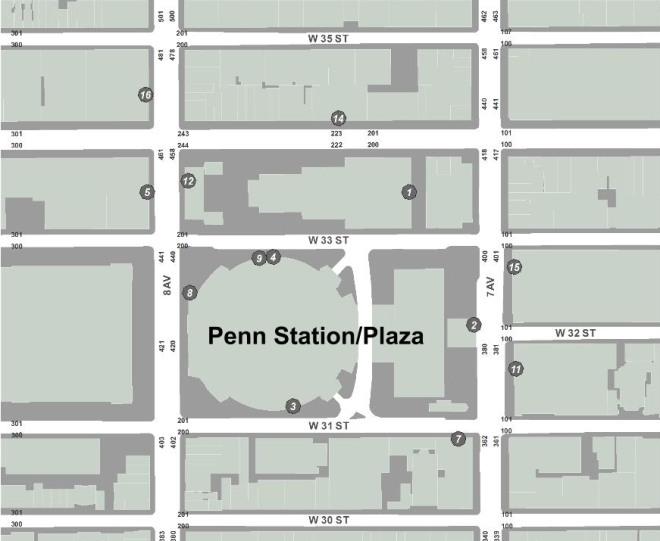 Penn Plaza Area